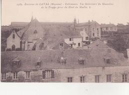 CPA - 1385. Env De LAVAL - Entrammes Vue Intérieure Du Monastère - Laval