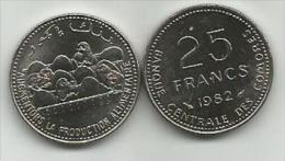 Comoros 25 Francs 1982. UNC FAO - Comoros