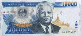 Laos 10.000 Kip, P-35a (2002) - UNC - Laos