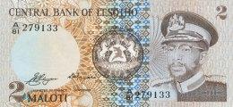 Lesotho 2 Maloti, P-4a (1981) - UNC - Lesoto