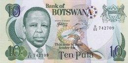 Botswana 10 Pula, P-20a (1999) - Signature 7a -  UNC - Botswana