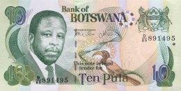 Botswana 10 Pula, P-24a (2002) - Signature 8b -  UNC - Botswana