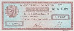 Bolivia 10 Centavos, P-197 (1987) -  UNC - Bolivien