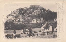 PITTEN (NÖ) - Prägekarte Gel.1902 - Pitten