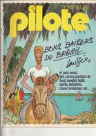 Rare Revue Mensuel Pilote N°15 Aout 1975 - Pilote