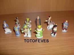 SERIE COMPLETE SCHRECK 3 DE 10 FEVES N° 200 - Other