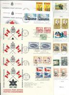 Canada LOT - 31 FDC Ottawa Ontario Via Yugoslavia ( 1967 - 1972 ) And 23 Postmaster General / Ministre Des Postes. - 1961-1970