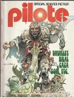Rare Revue Mensuel Pilote N°13 Bis Juin 1975 - Pilote