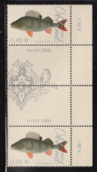 Aland 2008 MNH Scott #270-#271 Set Of 2 Fish Gutter Pairs With Number - Aland