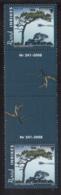 Aland 2008 MNH Scott #273-#274 Set Of 2 Langviksagen, Badhusberget Gutter Pairs With Number - Aland