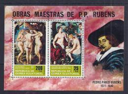 PINTURA - GUINEA ECUATORIAL 1970 - MNH ** - Desnudos