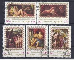 PINTURA - FUJEIRA 1971 - VFU - Nudes