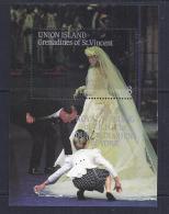 CELEBRIDADES - SAN VINCENT & Gr. 1986 - Yvert # - MNH ** - Familias Reales