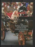 CELEBRIDADES - SAN VINCENT & Gr. 1986 - Yvert # (sin Dentar) - MNH ** - Familias Reales