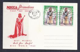 MISS WORLD - JAMAICA 1964 - SPD - Jamaica (1962-...)