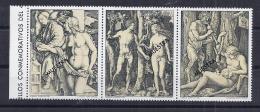 PINTURA - PARAGUAY 1978 - Yvert #   Muestras - MNH ** - Desnudos