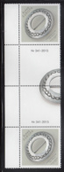 Aland 2015 MNH Silver Jewlery Embossed Gutter Pairs With Number - Aland