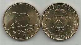 Hungary 20 Forint 2003. UNC KM#768 Deak Ferenc - Ungheria