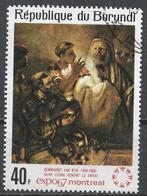Burundi 1967. Scott #217 (U) Painting Exhibited At EXPO 67, St. Peter Denying Christ By Rembrandt * - 1962-69: Oblitérés