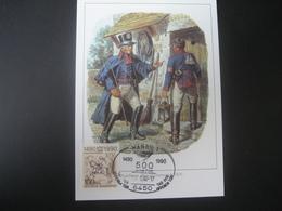 Deutschland BRD Maxicard 1990- Maxicard 500 Jahre Post, Tag Der Offenen Tür In Hanau - Maximumkarten (MC)