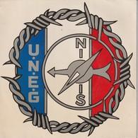 Rare Disque 45 T De L'union Des évadés De Guerre L'hymne  Dans L'cul - 1939-45