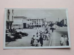 La Gare Et L'Avenue DAR EL MAGLIZEN / Rabat ( CAP - 103 ) Anno 1947 ( See/voir Photo ) ! - Rabat