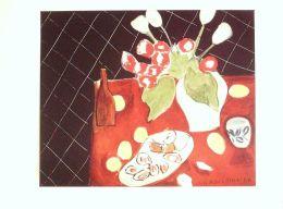 MATISSE HENRI-TULIPES Et HUITRES-TABLEAU-1942-38x28cm-3736-XV - Stampe & Incisioni