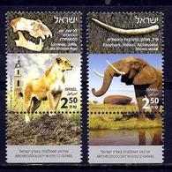 Israel.2018.Archeozoology In Eretz Israel.Lioness,elephant.2 V. ** . - Israel