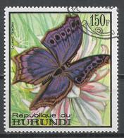 Burundi 1968. Scott #255 (U) Butterfly, Salamis Temora * - Burundi