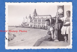 Photo Ancienne Snapshot - OSTENDE , Belgique - Vue Sur Le Casino - 1935 - Publicité CIDA Le Chocolat - Automobiles