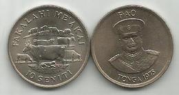 Tonga 10 Seniti 1975. FAO High Grade - Tonga
