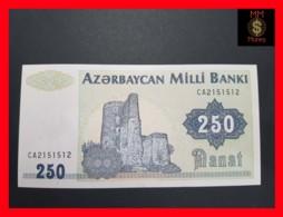 AZERBAIJAN 250 Manat 1992 P. 13 B UNC - Azerbaïdjan