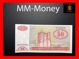 AZERBAIJAN 50 Manat 1993 P. 17 B  UNC - Azerbaïdjan