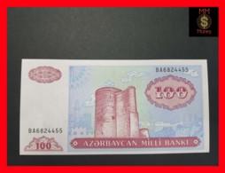 AZERBAIJAN 100 Manat 1993 P. 18 B  UNC - Azerbaïdjan