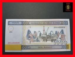 AZERBAIJAN 1.000 1000 Manat 2001 P. 23 UNC - Azerbaïdjan