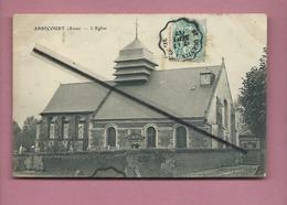 CPA  - Abbécourt  -(Aisne) - L'église - Autres Communes
