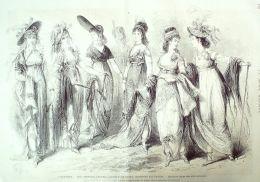 THEATRE-SARDOU-LES MERVEILLEUSES-1724-1869 - Prints & Engravings