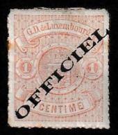 Luxembourg 1875 Dienstmarke Ungebraucht Mi. 1 Type I (breiter) - Postage Due