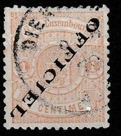 Luxembourg 1875 Dienstmarke Kopfstehend!! Upside Down.  Mi.10 Type I (breiter) - Postage Due