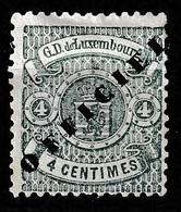 Luxembourg 1875 Dienstmarke Ongestempeld, Schmaler Type  Mi.12 Type II (schmaler) - Postage Due