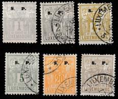 Luxembourg 1882 Dienstmarken - Postage Due