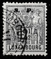 Luxembourg 1882 Dienstmarke Mi.40, 12,5 Ct - Postage Due