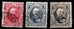 Luxembourg 1891 Dienstmarken Mi.53 50ct. - Postage Due
