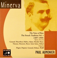 Paul AUMONIER. 1 CD. 22 Titres. The Voice Of Bass. The French Tradition Vol.1. - Opera