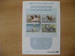 Deutschland- ETB Für Die Wohlfahrtspflege 2007 - BRD