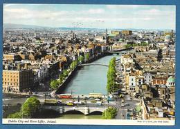 DUBLIN CITY AND RIVER LIFFEY IRELAND 1975 - Dublin