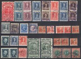 B60) V.E.III LOTTO MARCHE DA BOLLO DI VARI TIPI USATE - 1900-44 Vittorio Emanuele III