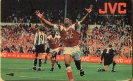 Malaysia - GPT, Football, 41UJVC, Eu Yan JVCFootball, Arsenal, 5RM, 5.000ex, 1995, Mint - Malaysia