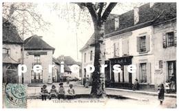 38  Vèzéronce Café Hôtel Du Globe Et Boulangerie - Autres Communes