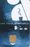 TARJETA CON CHIP DE ITALIA DE ALLIANCE VENDING  (CHIP-PUCE) - Tarjetas Telefónicas